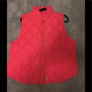 J-Crew puffer vest size XXL - like new